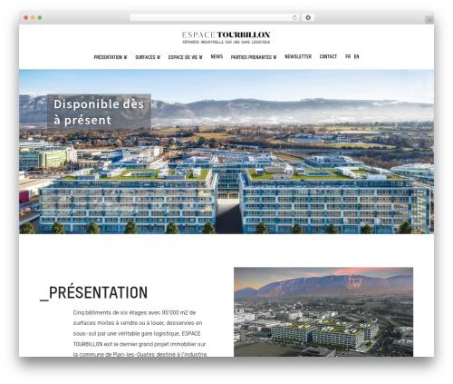 X premium WordPress theme - espacetourbillon.ch