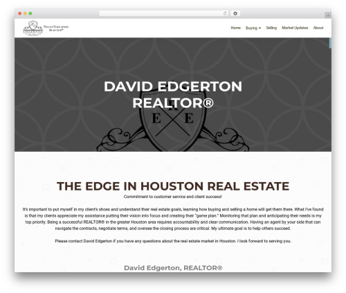 OnePirate free WordPress theme - edgertonrealestate.net
