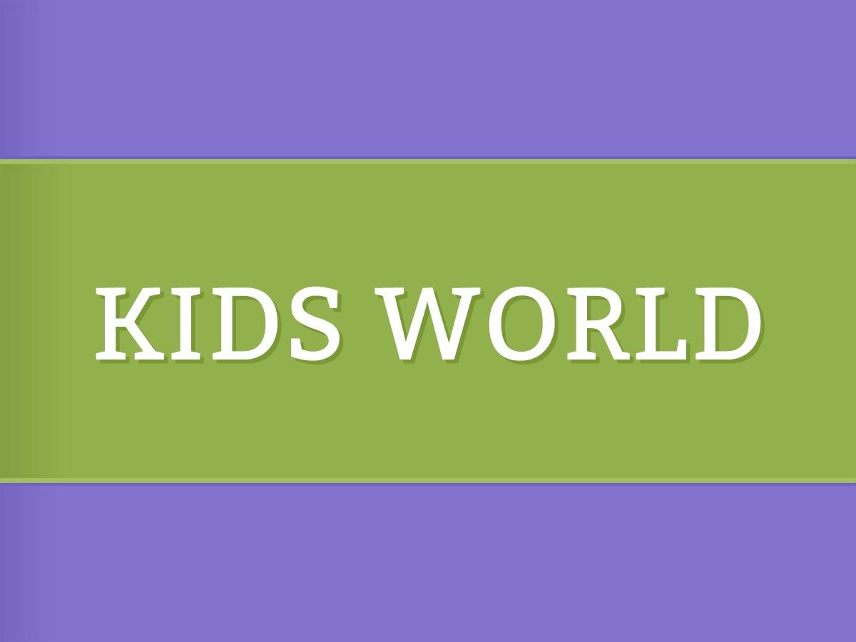 WP template Kids World