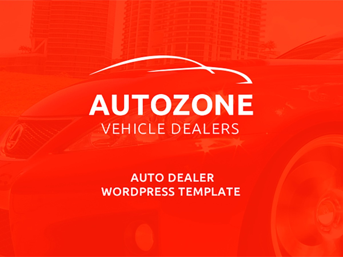 AutoZone best WordPress theme