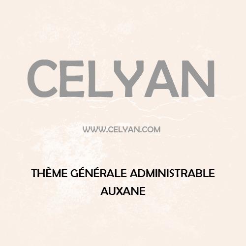 Auxane Opticiens WordPress theme