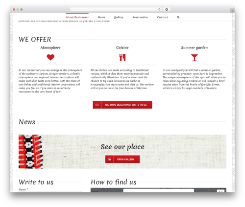 Avada best WordPress template - ukrainska.pl