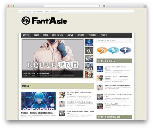 Avenue free WordPress theme - fant-asie.com