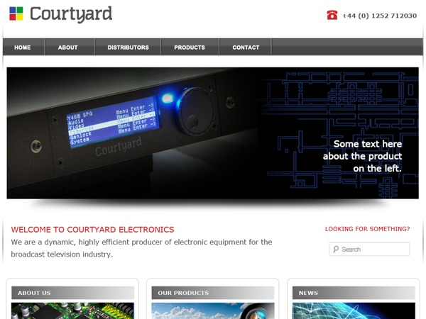 Courtyard free WordPress theme