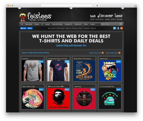 eGallery WordPress template for photographers - feistees.com