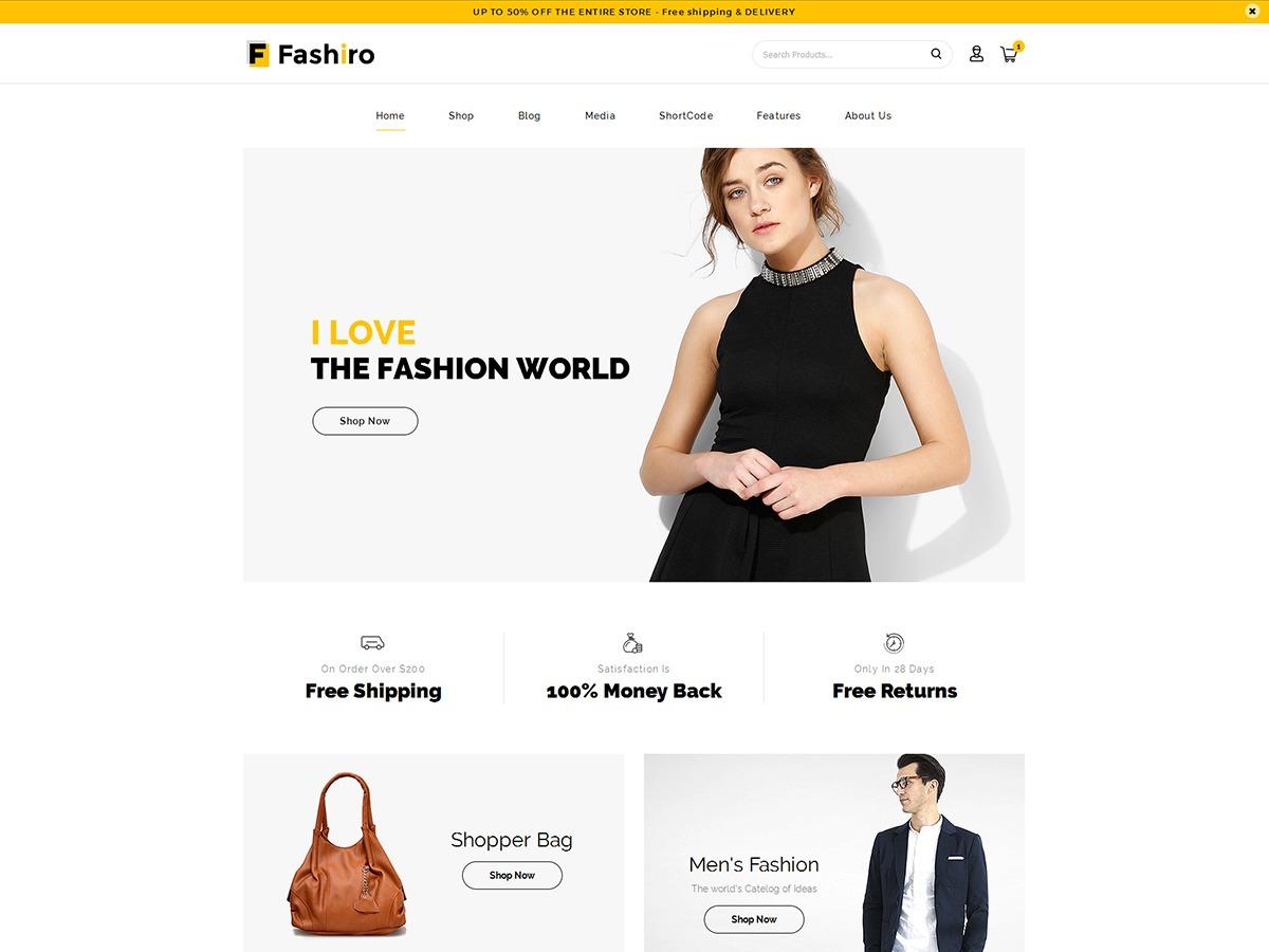 Fashiro WordPress news theme