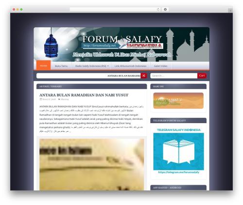Free WordPress Simple Hijri Calendar plugin - forumsalafy.net