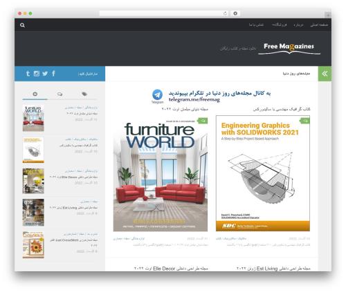 Free WordPress WP Menu Cart plugin - freemag.ir
