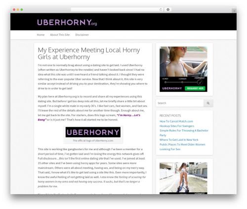 Icy WP template - uberhorny.org