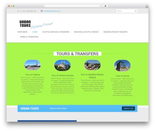Kage WP template - urbantours.pt