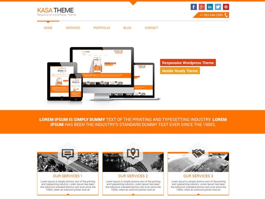 Kasa PRO WordPress theme