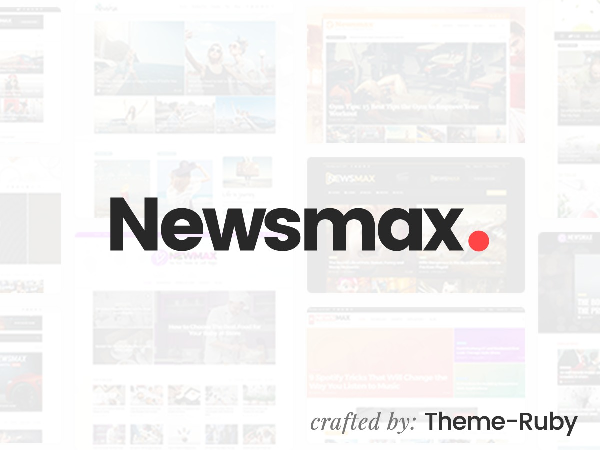 Newsmax WordPress news template
