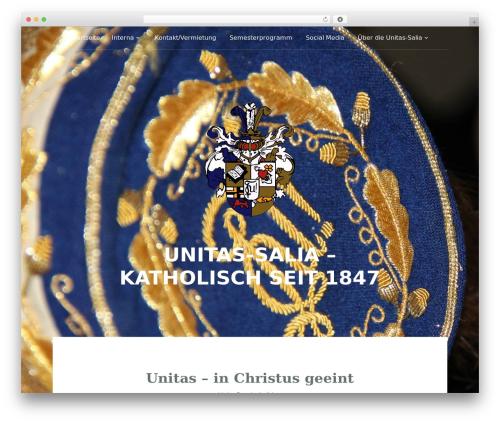 Padhang WordPress theme - unitas-salia.de