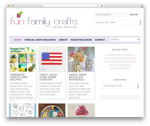 Free WordPress AVH Extended Categories Widgets plugin - funfamilycrafts.com