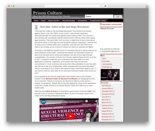 Template WordPress alibi - usprisonculture.com