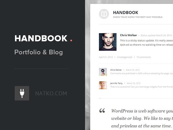 Template WordPress Handbook