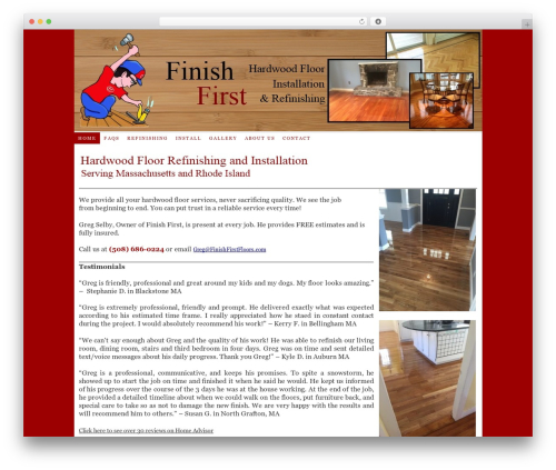 Theme WordPress Thesis - finishfirstfloors.com