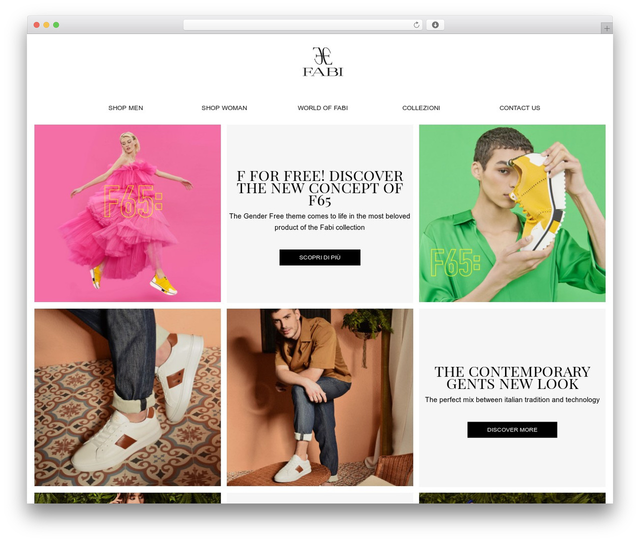 WordPress template Gantry Theme for WordPress - fabishoes.it