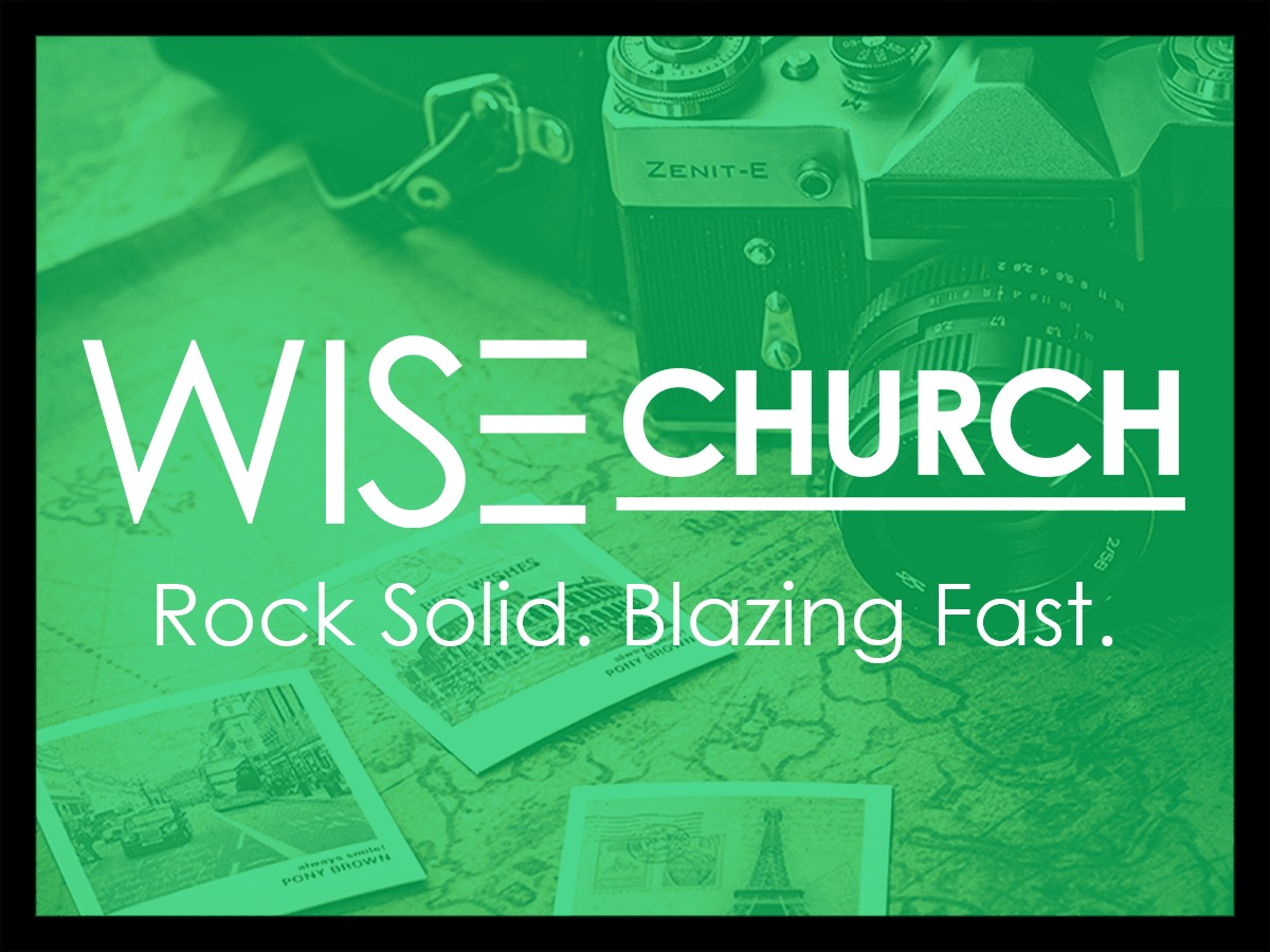 WordPress template Wise Church