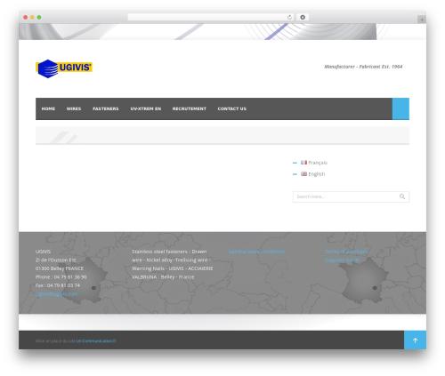 WordPress theme Nyx - ugivis.com