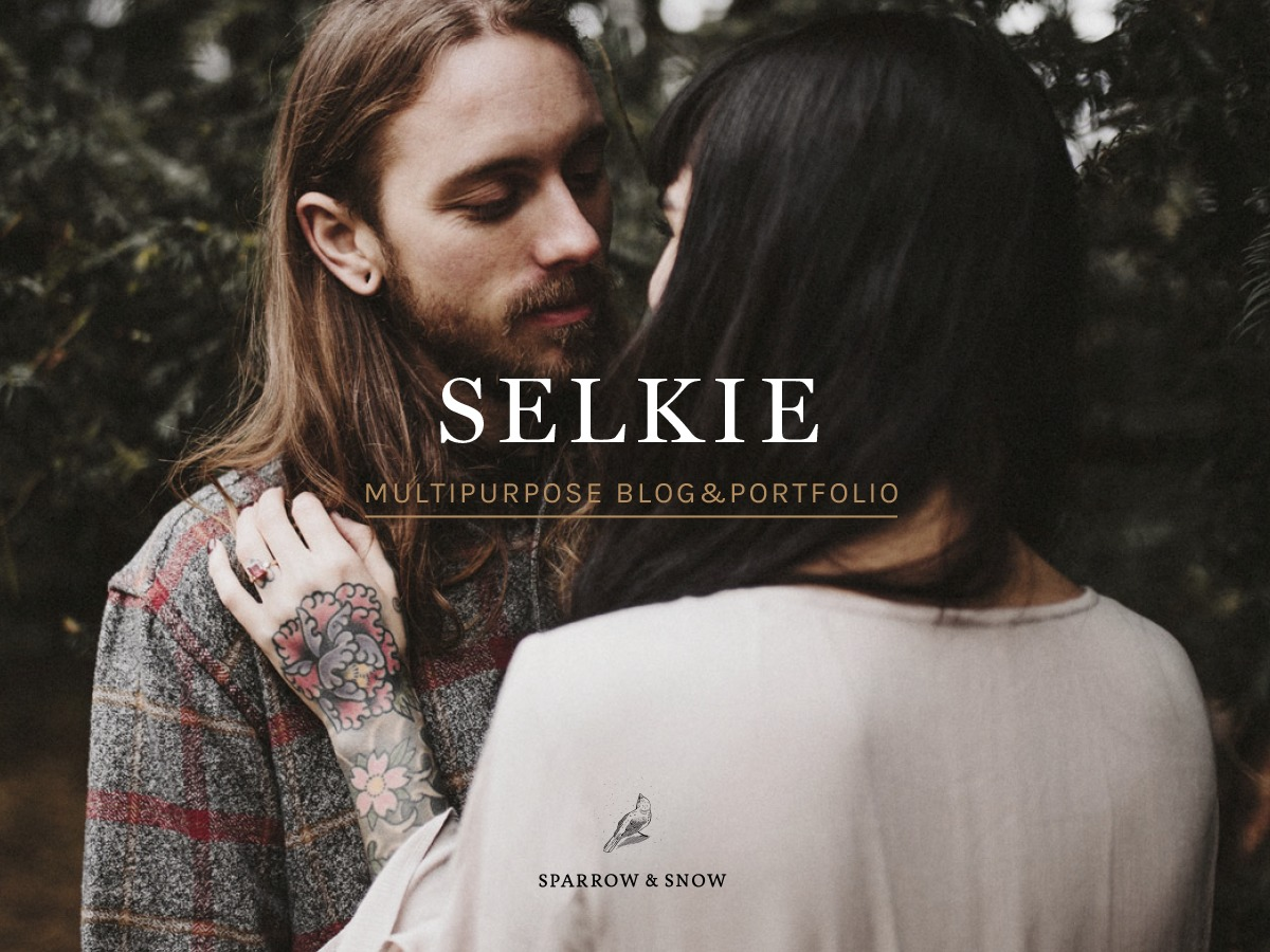 WordPress theme Selkie