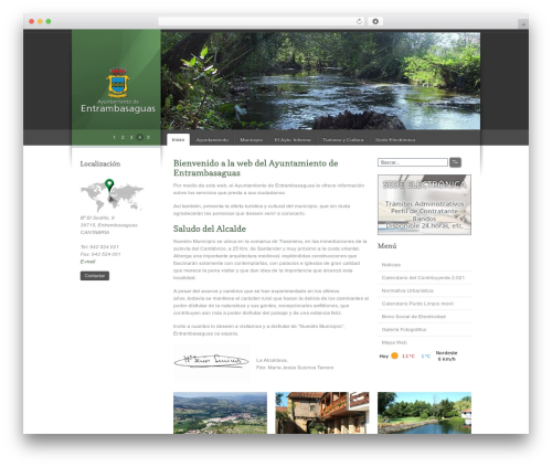 Celta Business company WordPress theme - entrambasaguas.org/web