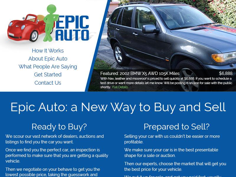 Epic Auto WordPress theme