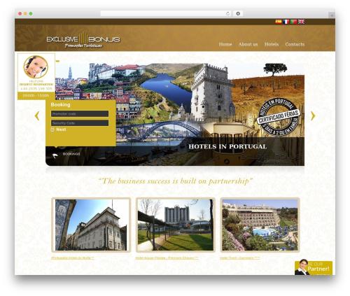 GuestHouse premium WordPress theme - exclusive-bonus.pt