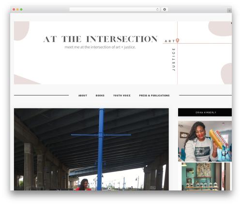 Hawthorn theme WordPress - erikakimberly.com