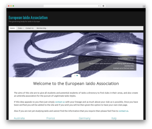 Tempera free WordPress theme - europeaniaidoassociation.com