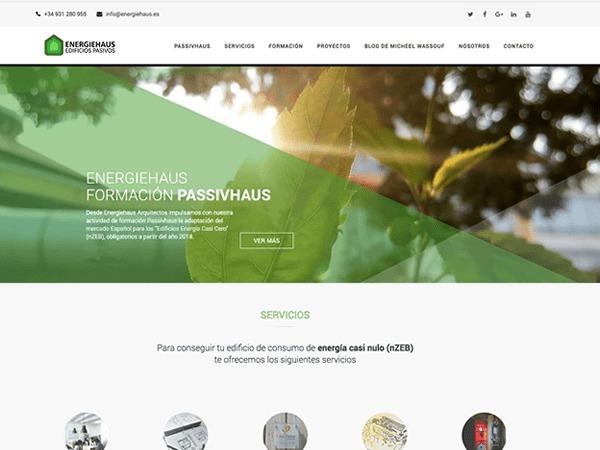 WordPress theme EnergieHaus