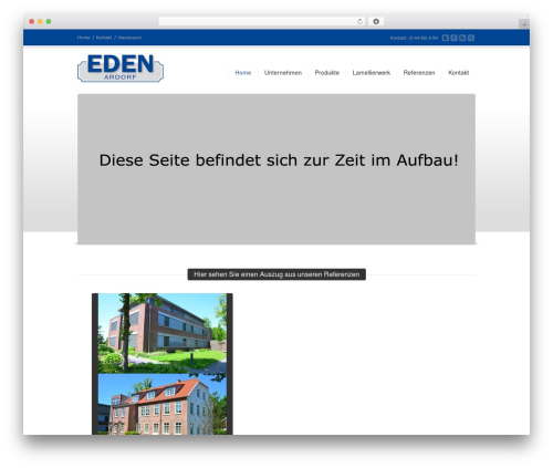 Corona WordPress template - eden-kanteln.de