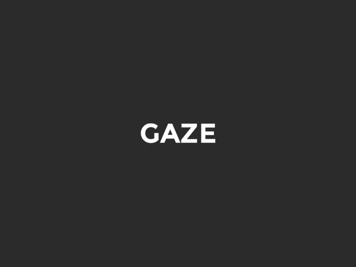 GAZE top WordPress theme