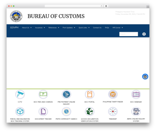Free WordPress Live Chat with Facebook Messenger plugin - customs.gov.ph