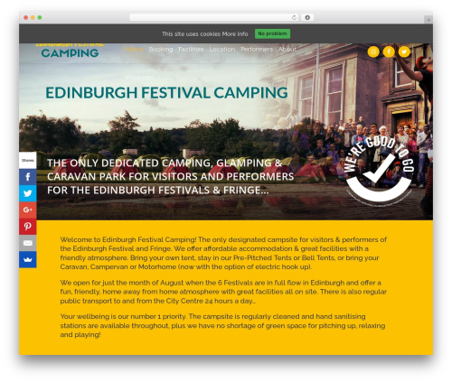 Template WordPress Eden - edinburghfestivalcamping.com