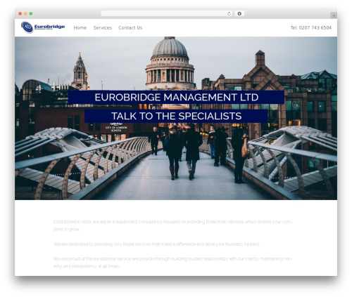 Free WordPress Livemesh SiteOrigin Widgets plugin - eurobridgemanagement.co.uk