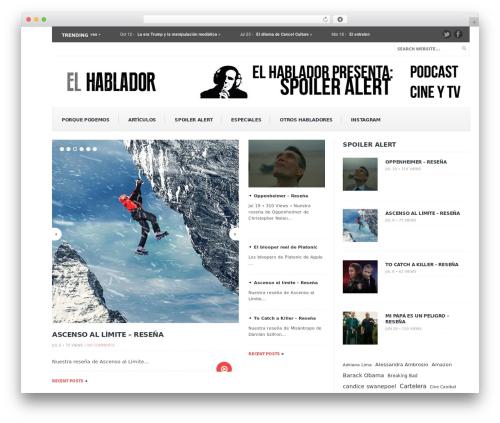 Free WordPress Retweet Anywhere plugin - elhablador.com.mx