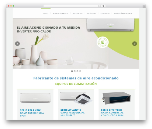 Theme WordPress Lounge - ekokai.com
