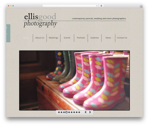 WordPress theme WP Champion - ellisgood.photography