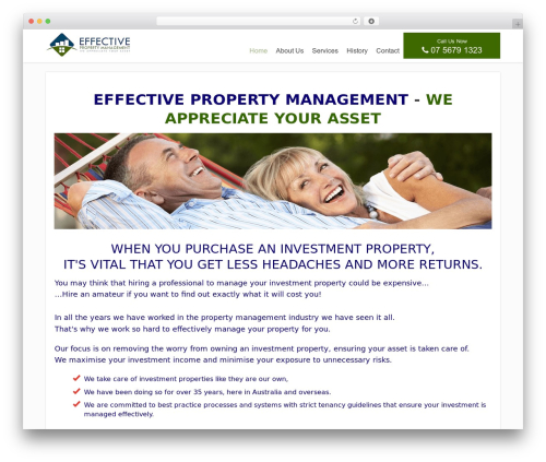 FocusBlog WordPress blog theme - effectivemanagement.com.au