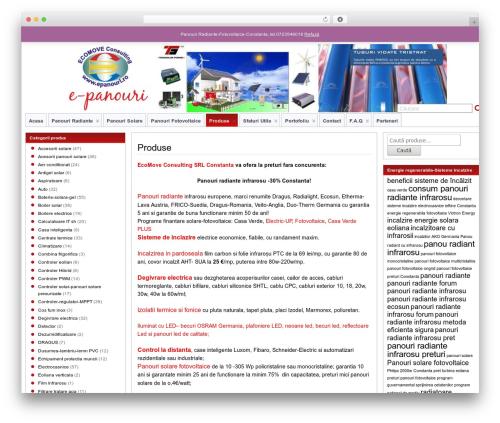 Suffu-scion WordPress theme design - e-panouri.eu