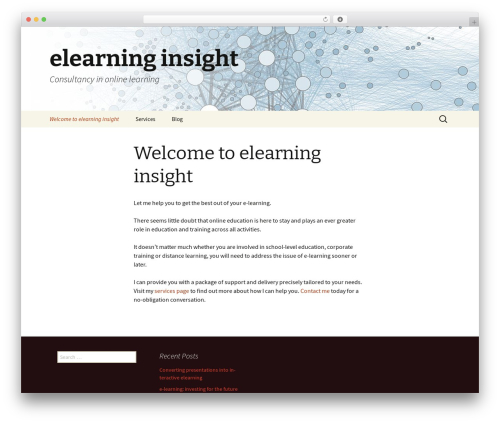 Twenty Thirteen WordPress theme download - elearninginsight.co.uk