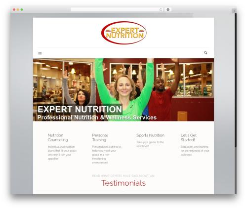 Betheme WordPress theme - expertnutritionomaha.com