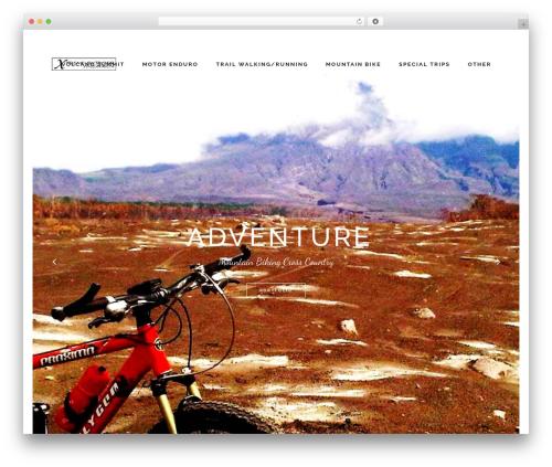 Borderland top WordPress theme - extreme-outdoor-yogyakarta.com
