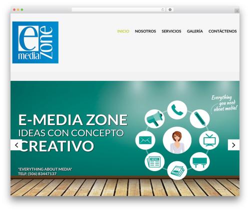 cherry WordPress theme - e-mediazone.com