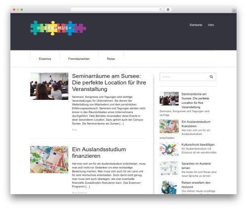 DutchStartingUp top WordPress theme - erasmus-online.ch