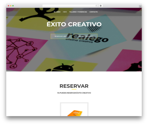 Theme WordPress ResponsiveBoat - exitocreativo.es