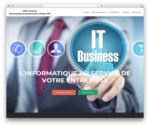 WordPress theme Zerif Lite - easi-computer.fr