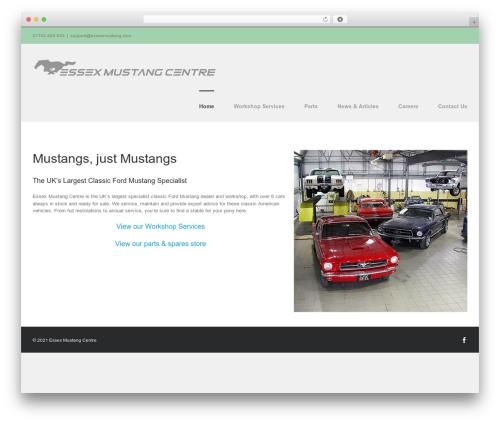 Free WordPress Subpagelister plugin - essexmustang.com