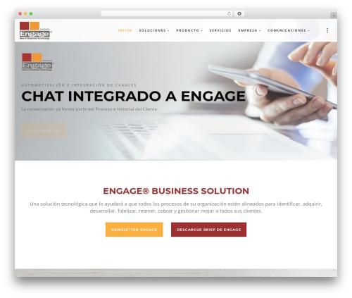 Blade company WordPress theme - engage-sc.com.ar
